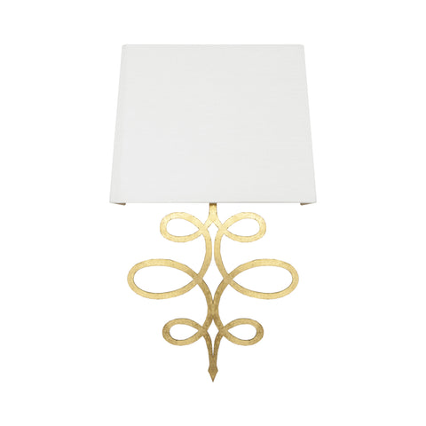 Worlds Away Theresa Wall Sconce - Matthew Izzo Home