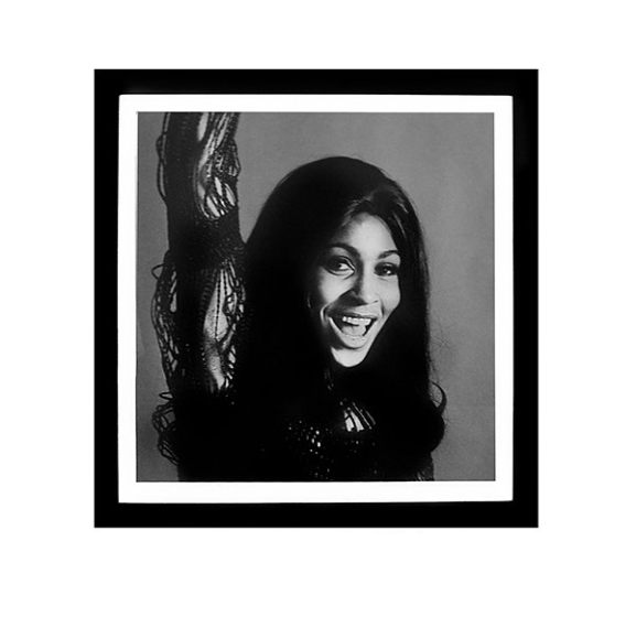 Worlds Away Tina Turner Black and White Framed Print - Matthew Izzo Home