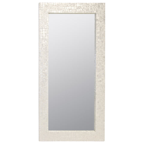 Worlds Away Hilary Croc Mirror - Matthew Izzo Home