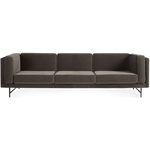 "Blu Dot Bank Velvet 96"" Sofa - Matthew Izzo Home"