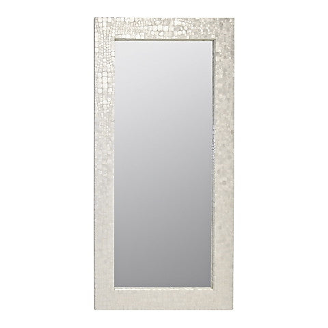 Worlds Away Hillary Croc Floor Mirror - Matthew Izzo Home
