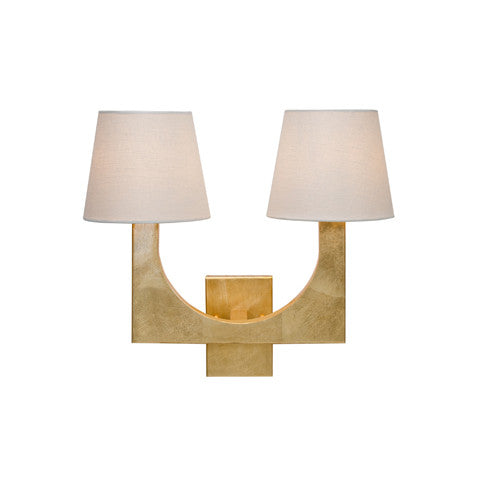 Worlds Away Fritz 2 Arm Sconce - Matthew Izzo Home