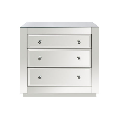 Worlds Away Alicia Mirrored Chest - Matthew Izzo Home