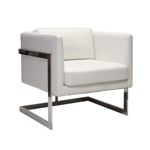 Worlds Away Macallen Lounger Chair - Matthew Izzo Home