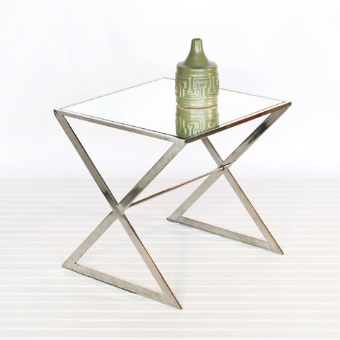 Worlds Away X Side Table - Matthew Izzo Home