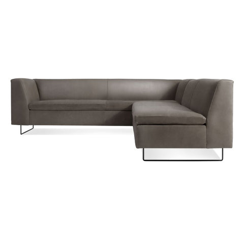 Blu Dot Bonnie and Clyde Leather Sectional Sofa - Matthew Izzo Home