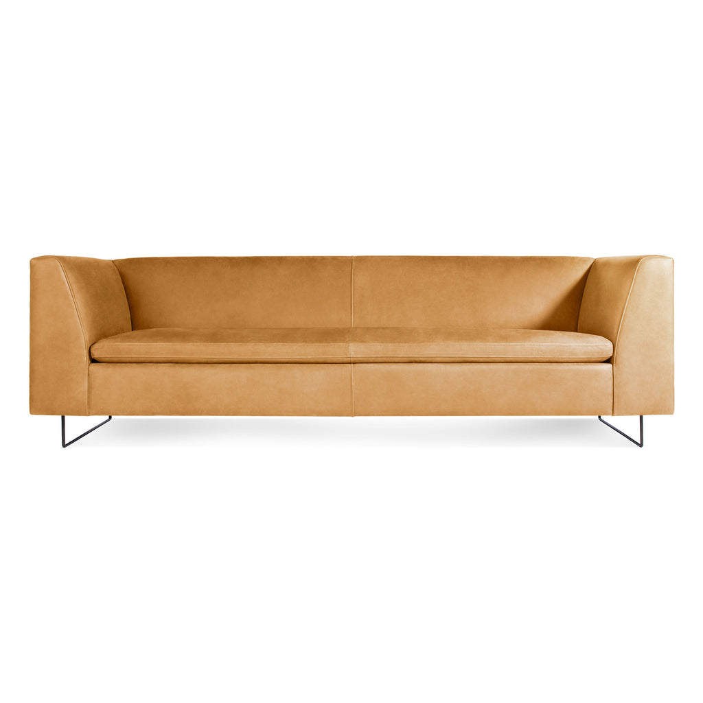 "Blu Dot Bonnie 96"" Leather Sofa - Matthew Izzo Home"