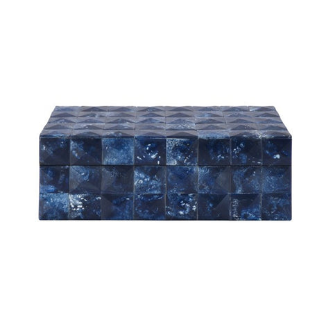 Worlds Away Bronson Blue Jewelry Box - Matthew Izzo Home