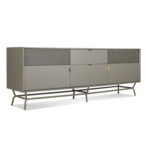 Blu Dot Dang 2 Door / 2 Drawer Console