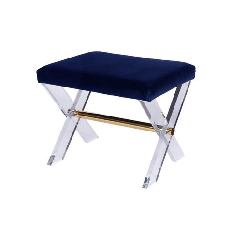 Worlds Away Dixon Stool - Matthew Izzo Home