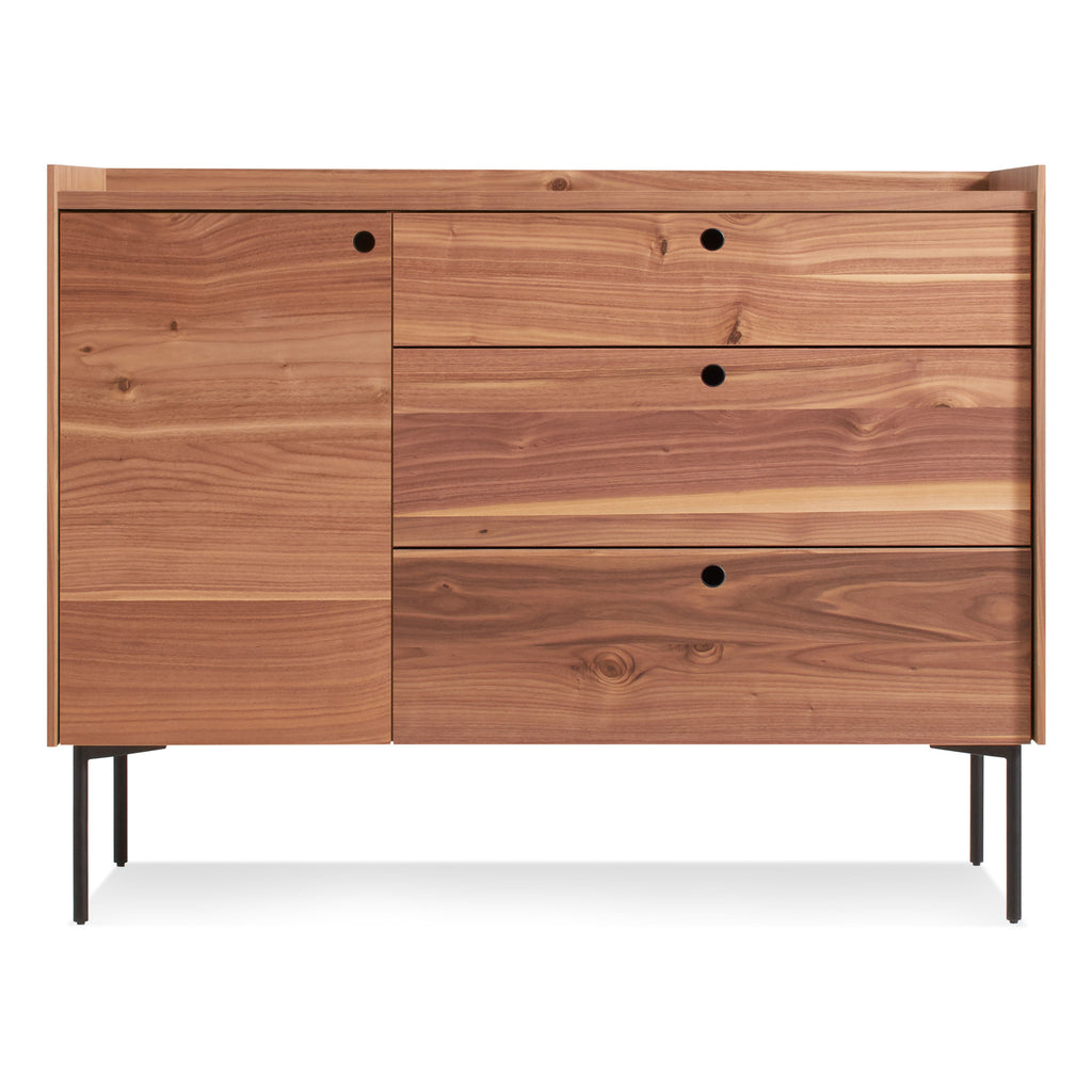 Blu Dot Peek 1 Door 3 Drawer Credenza - Matthew Izzo Home