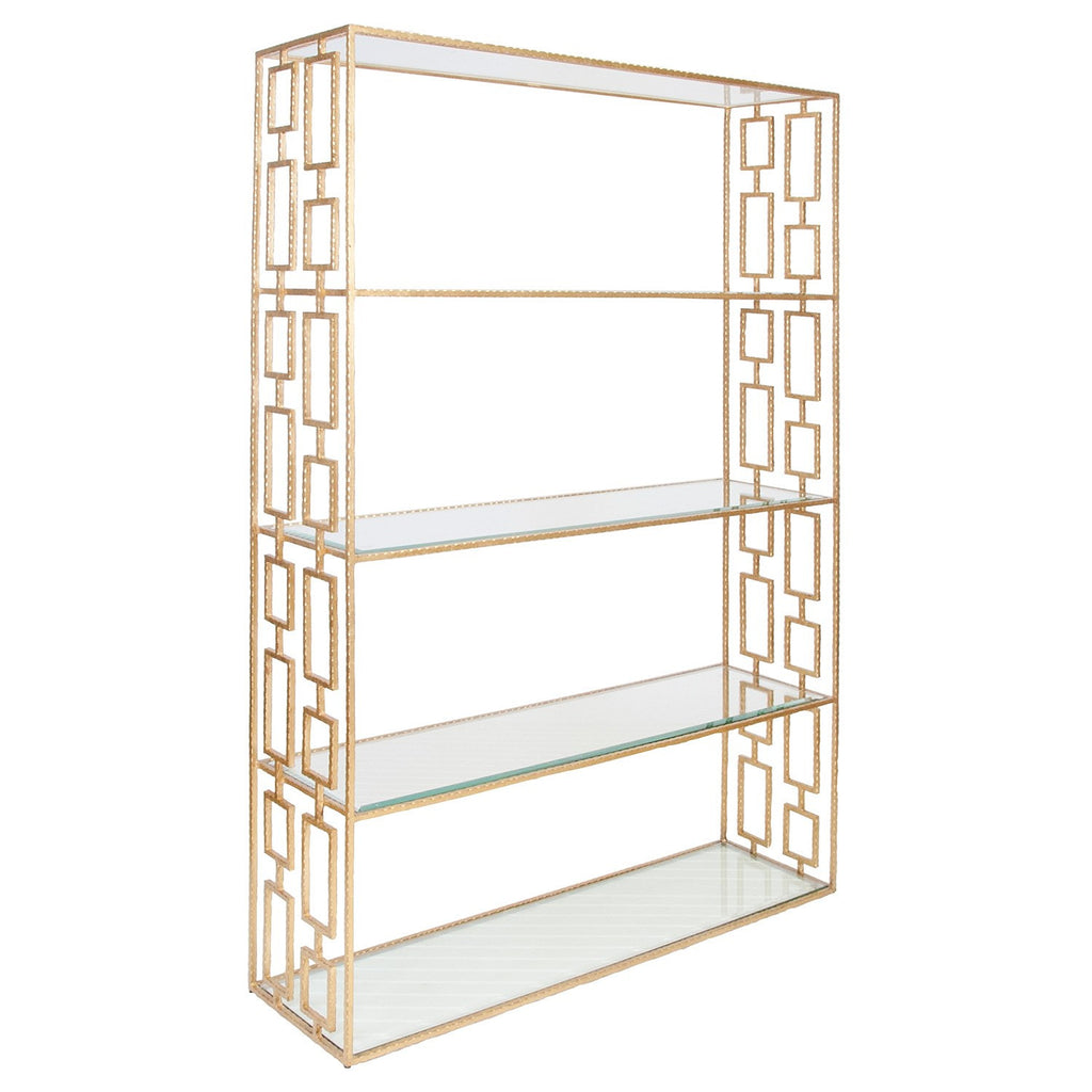 Worlds Away Hays Etagere - Matthew Izzo Home