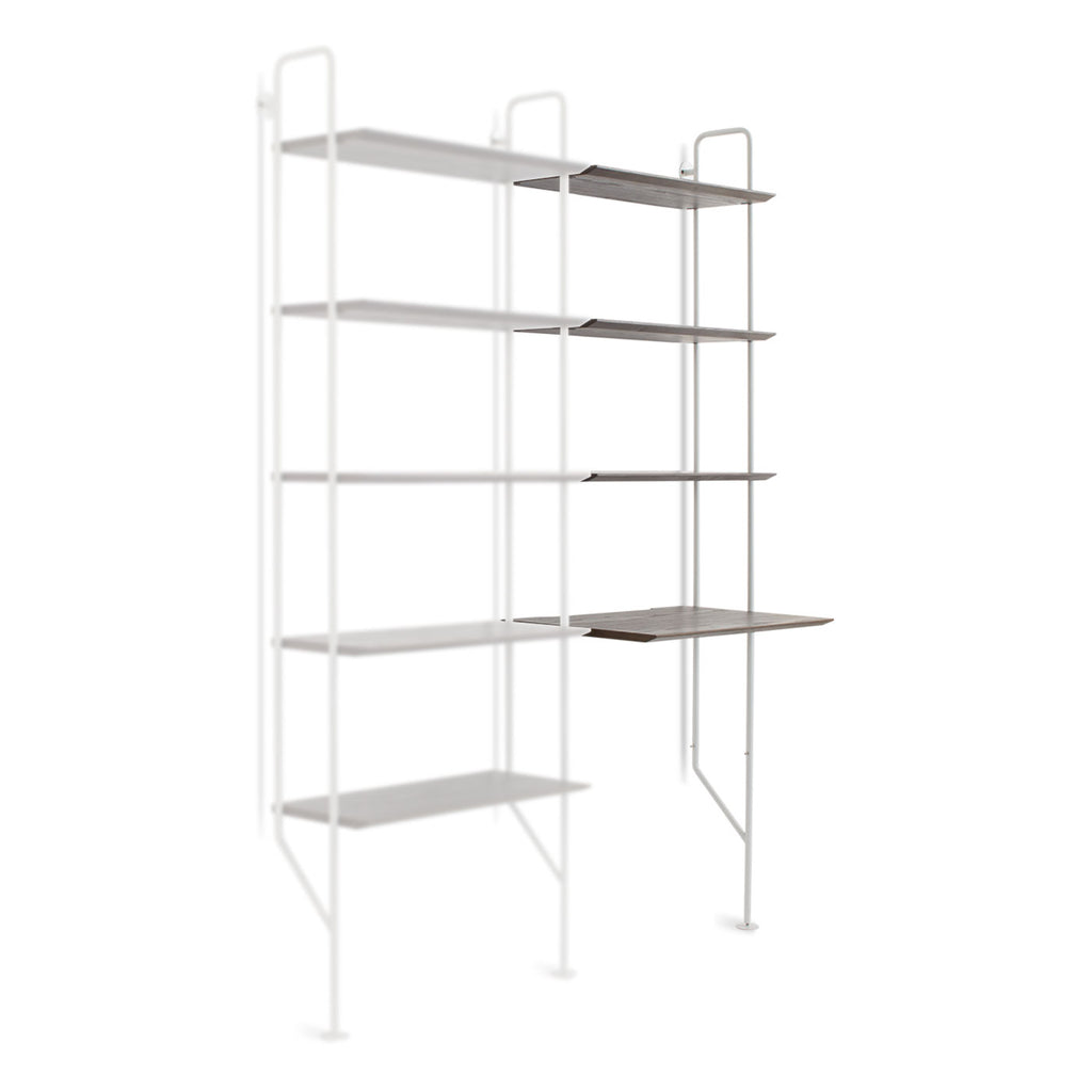 Blu Dot Hitch Add-on Ladder Bookcase and Desk