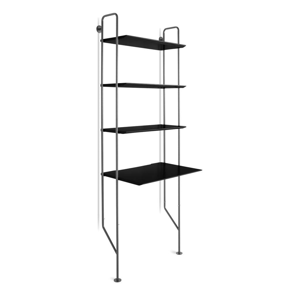 Blu Dot Hitch Ladder Bookcase and Desk