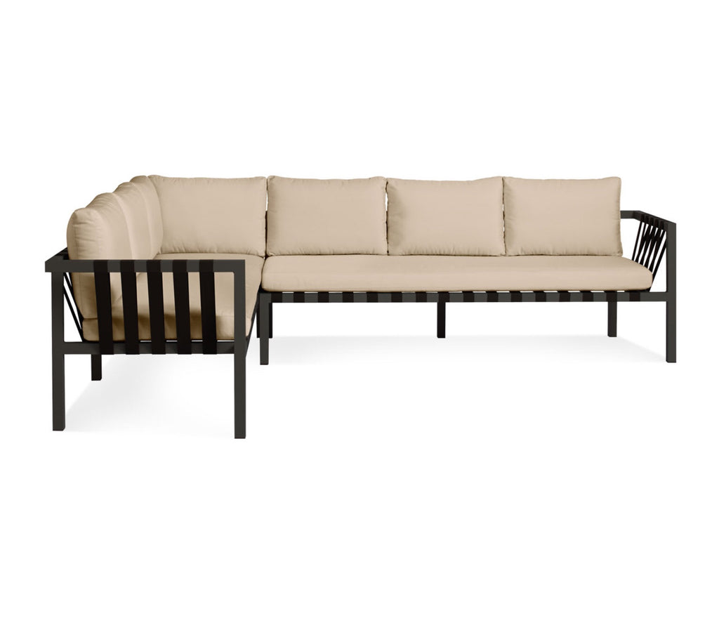 Blu Dot Jibe Sunbrella Taupe Extra Large Sectional Sofa - Matthew Izzo Home