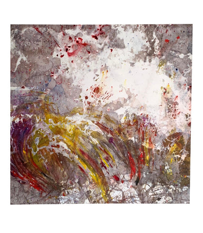 Large Abstract Acrylic on Canvas Painting - Matthew Izzo Home