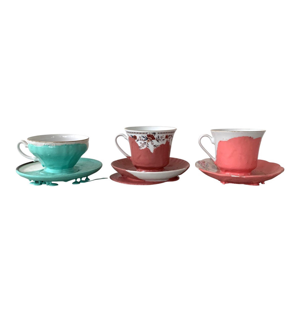 Matt Carr, Rubber-Dipped Tea Cups (1996) - Matthew Izzo Home