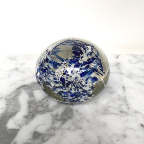 Vintage Glass Paperweight - Matthew Izzo Home
