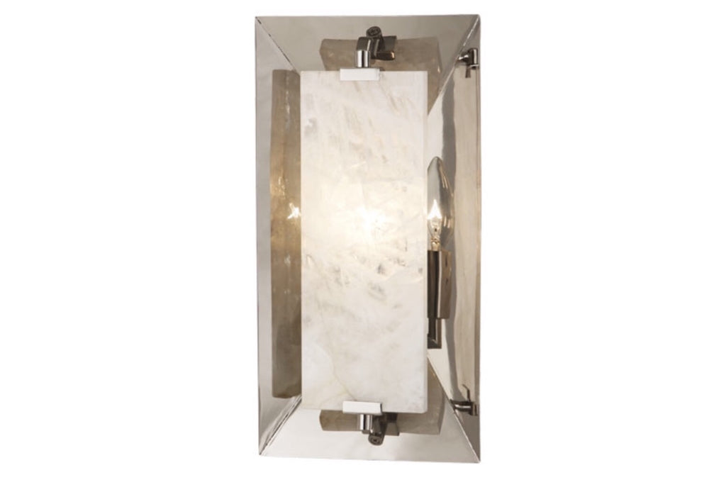 Robert Abbey Gemma Nickel Wall Sconce - Matthew Izzo Home