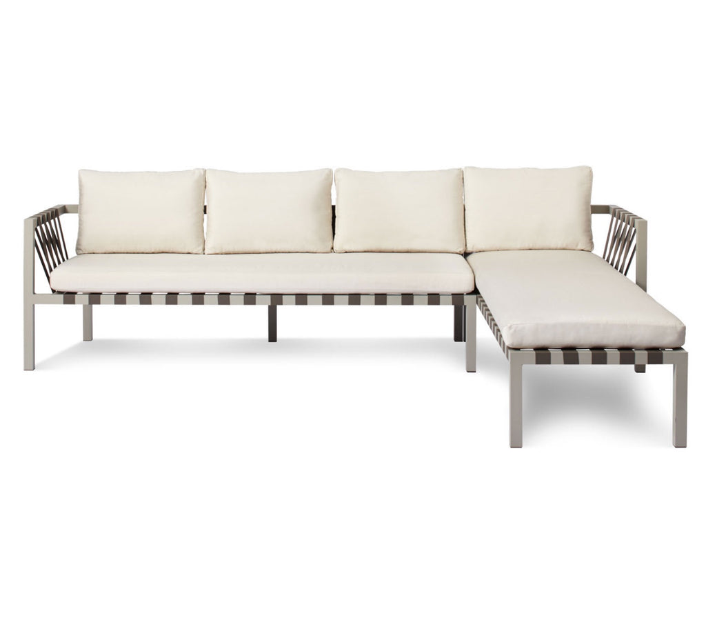 Blu Dot Jibe Sunbrella Canvas Outdoor Sectional Sofa - Matthew Izzo Home