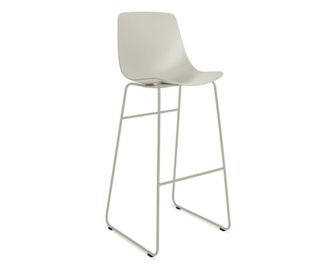 Blu Dot Clean Cut Putty Barstool - Matthew Izzo Home