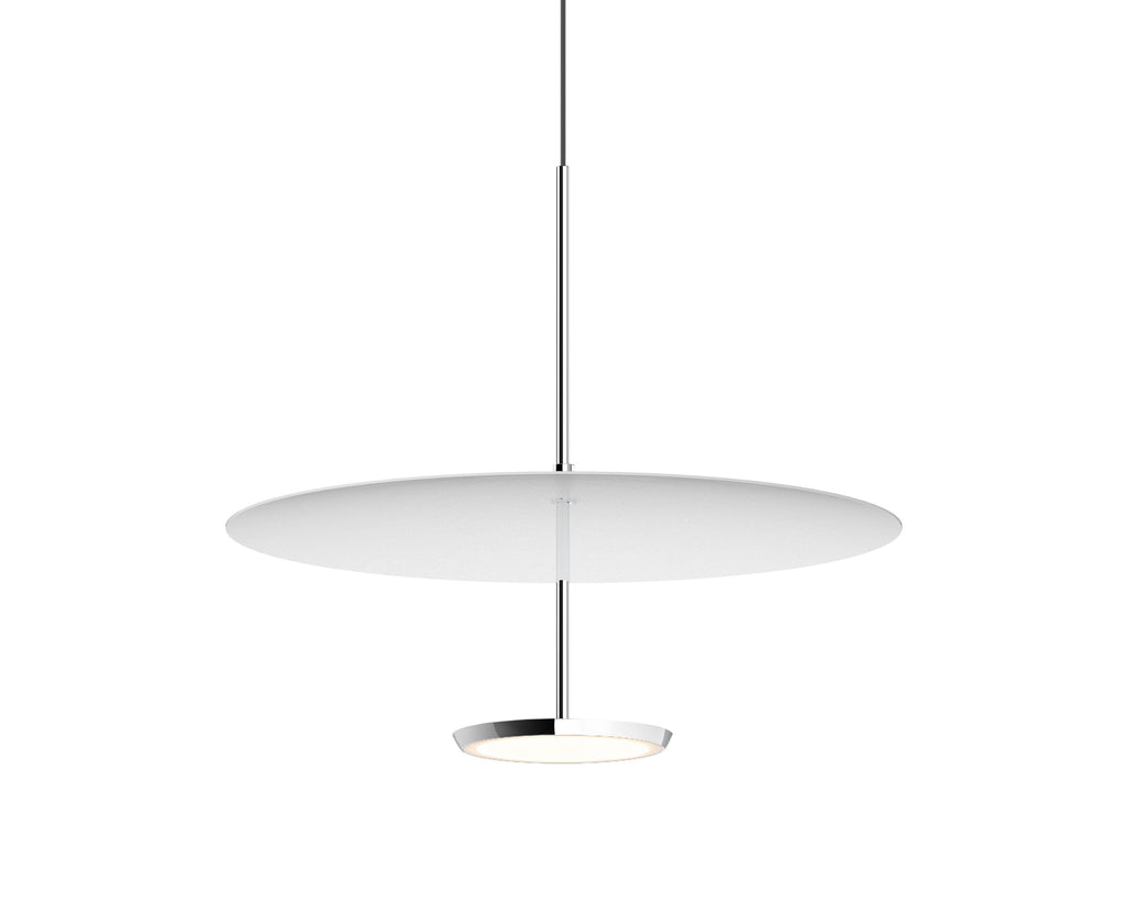 Pablo Designs Sky Dome White Pendant