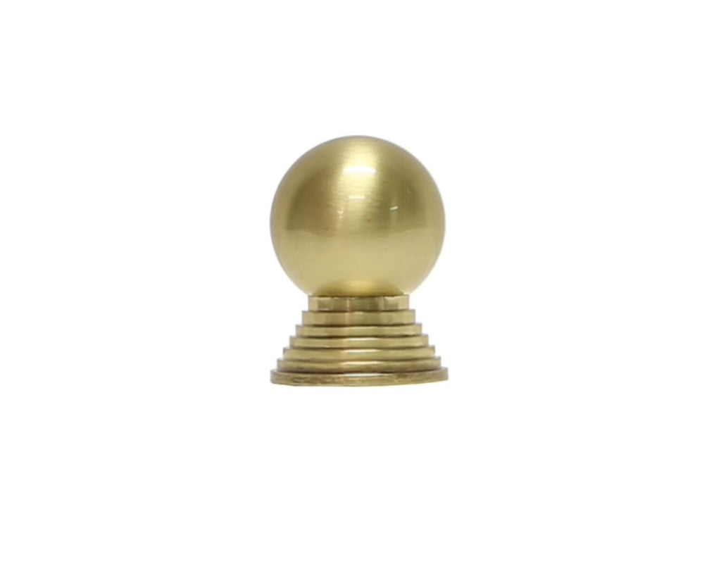 Worlds Away Betsy Brass Cabinet Knobs - Matthew Izzo Home