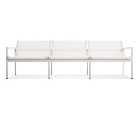 Blu Dot Skiff White Outdoor 3 Seat Sofa - Matthew Izzo Home