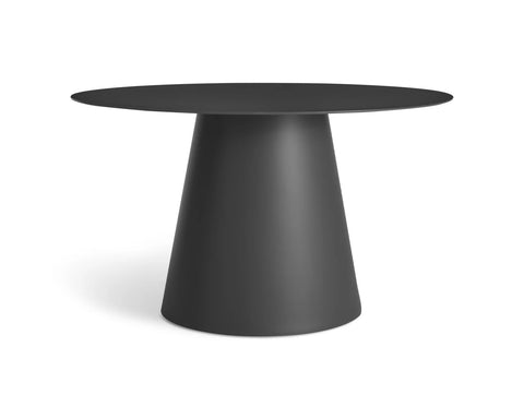 "Blu Dot Circula 52"" Black Dining Table - Matthew Izzo Home"
