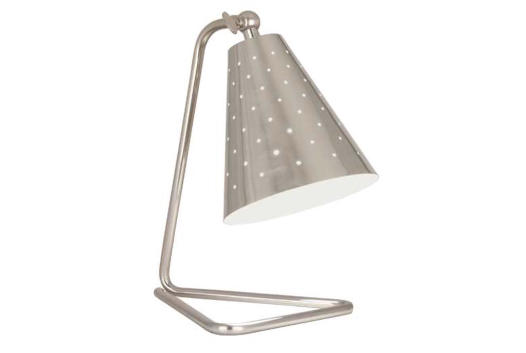 Robert Abbey Pierce Silver Task Table Lamp - Matthew Izzo Home