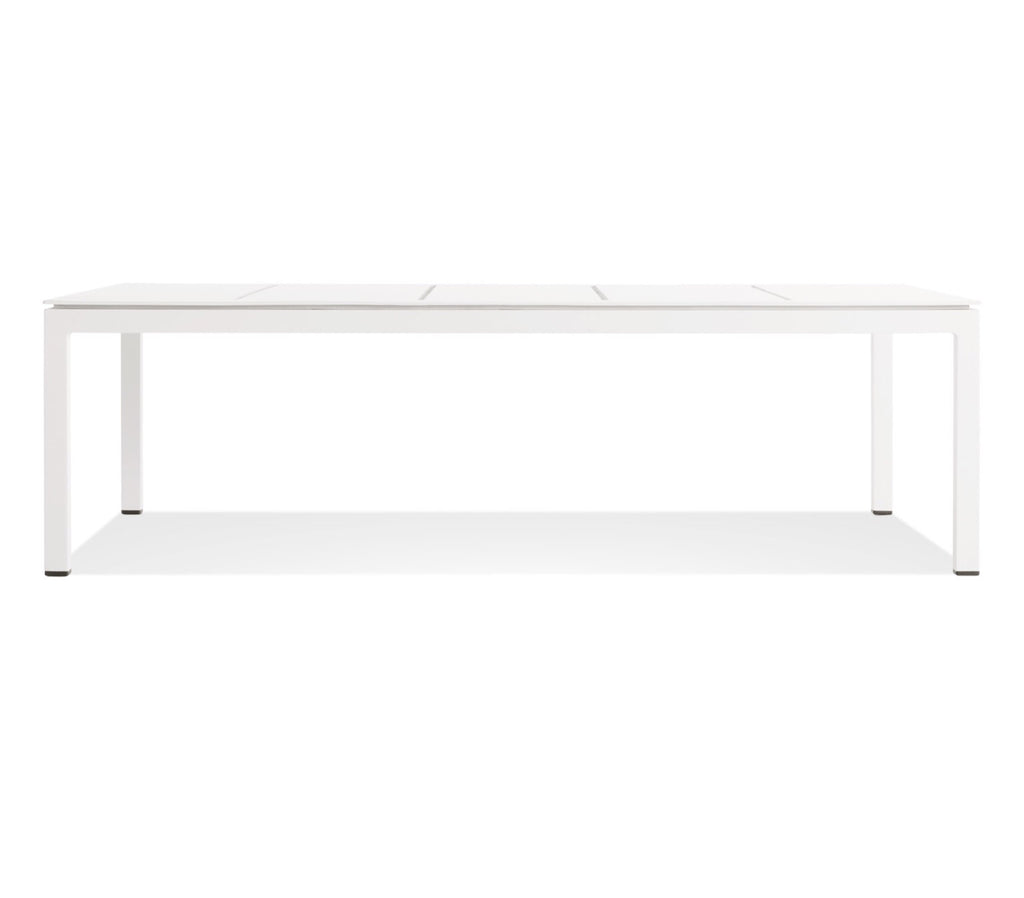 Blu Dot Skiff White Outdoor Coffee Table - Matthew Izzo Home