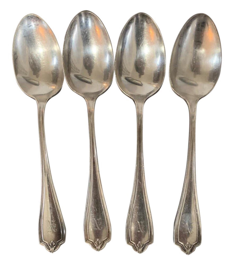 Silver Plated Antique Spoons - Matthew Izzo Home