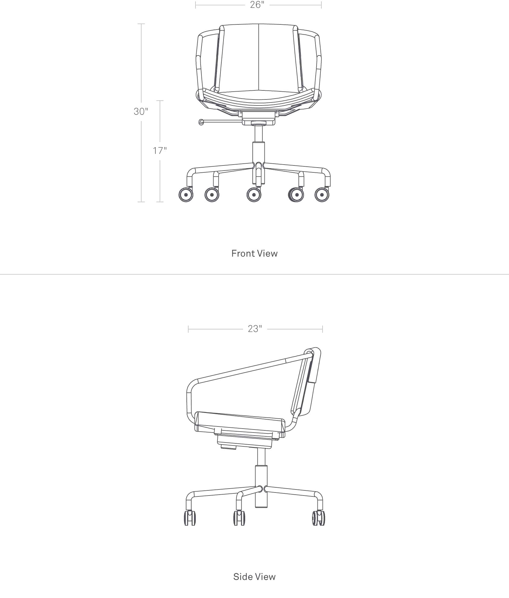 Brilliant Blu Dot Daily Task Chair Ncnpc Chair Design For Home Ncnpcorg