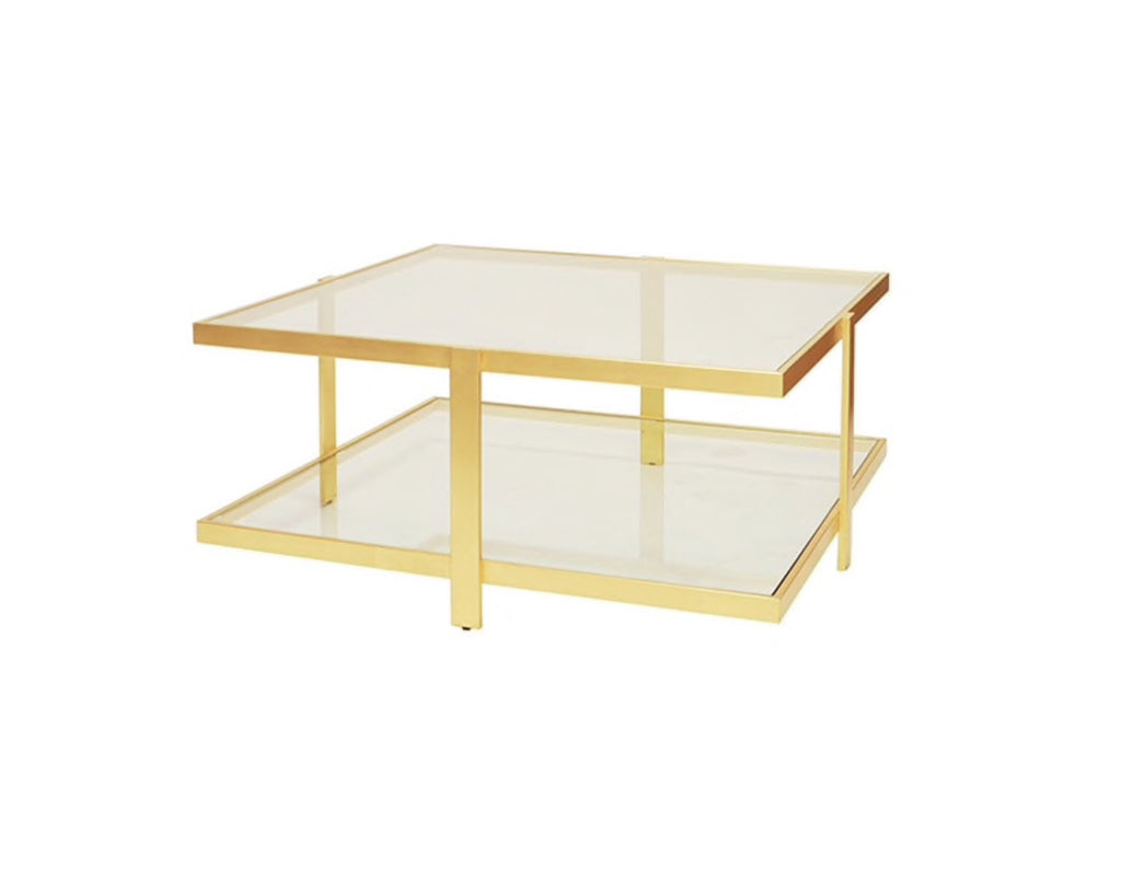 Worlds Away Maris Coffee Table - Matthew Izzo Home