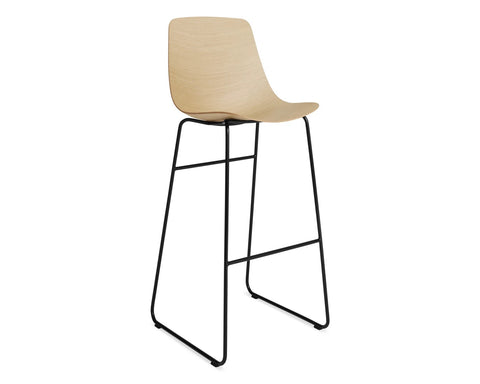 Blu Dot Clean Cut White Oak Barstool