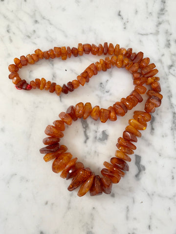 Amber Necklace - Matthew Izzo Home