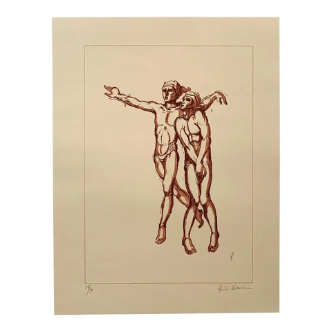 Paolo D'Anna Signed Lithograph Edition, Petrushka Ballet - Matthew Izzo Home
