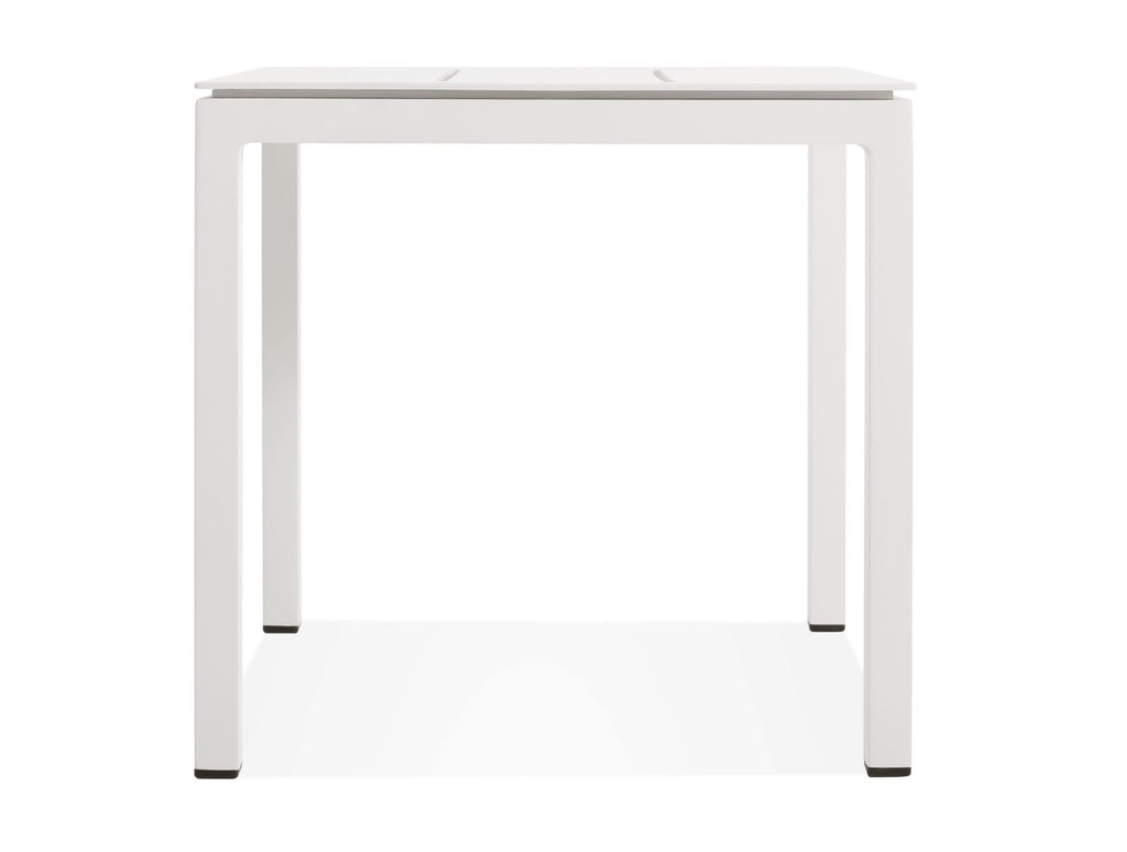 Blu Dot Skiff White Low Side Table - Matthew Izzo Home