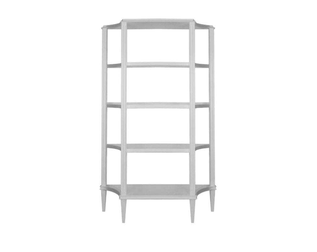 Worlds Away Bronte Etagere - Matthew Izzo Home