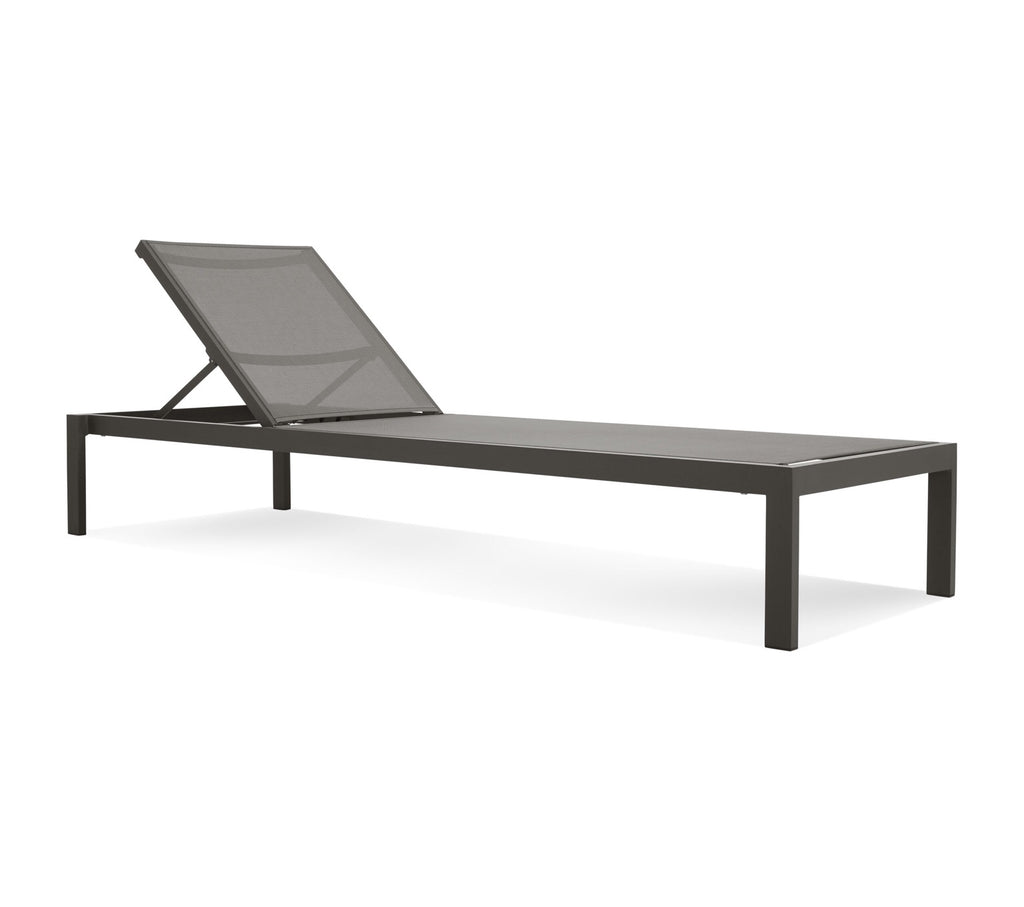 Blu Dot Skiff Carbon Outdoor Sun Lounger - Matthew Izzo Home