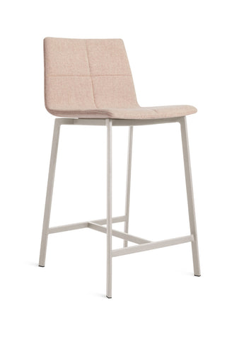 Blu Dot Between Us Blush Modern Counter Stool - Matthew Izzo Home