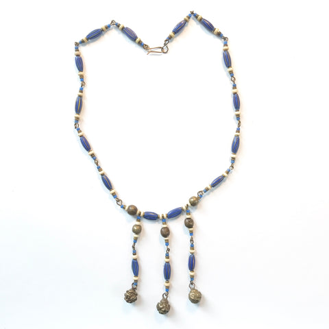 Rare African trade bead necklace
