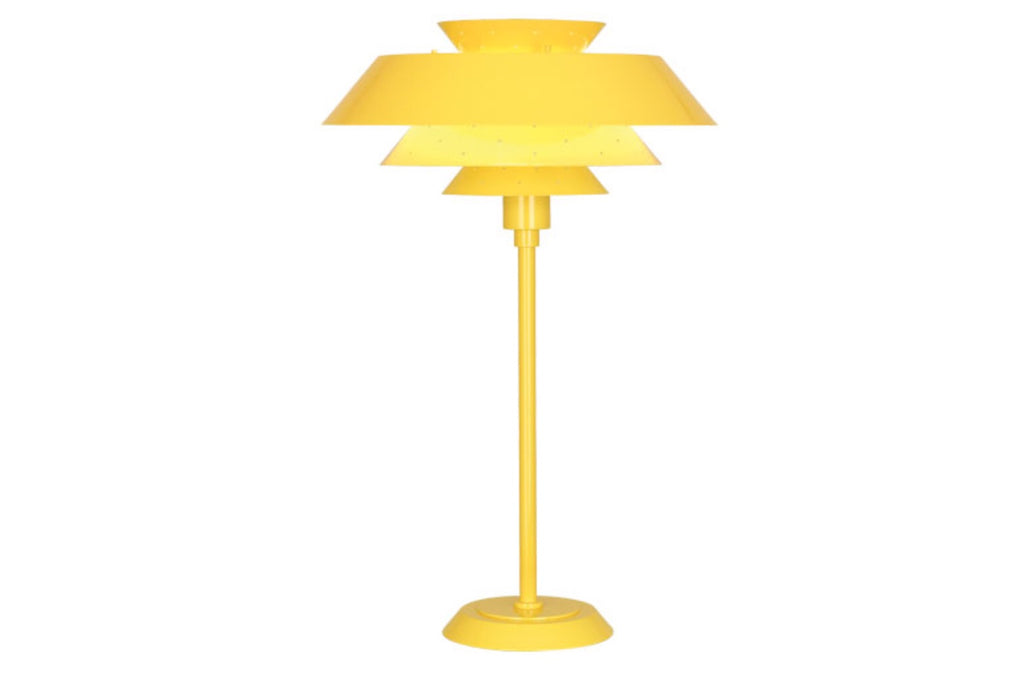 Robert Abbey Pierce Yellow Table Lamp - Matthew Izzo Home
