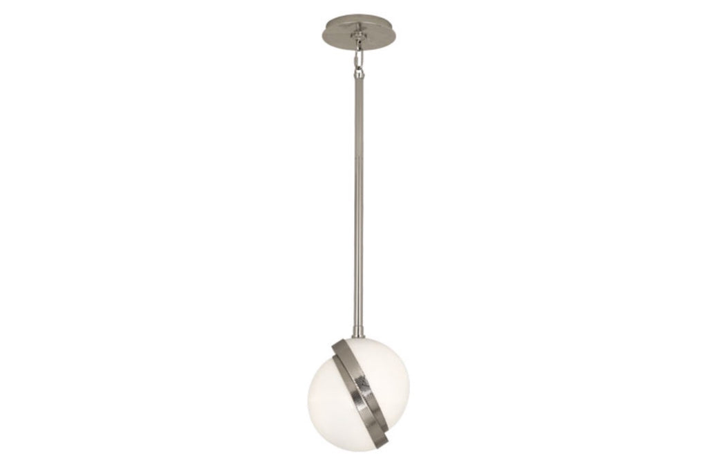 Michael Berman Brut Modern Nickel Pendant - Matthew Izzo Home