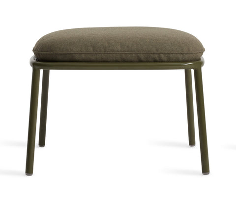 Blu Dot Mate Olive Outdoor Ottoman - Matthew Izzo Home