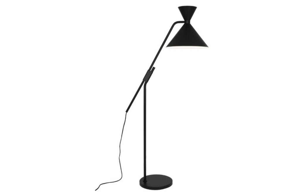 Robert Abbey Cinch Black Floor Lamp - Matthew Izzo Home