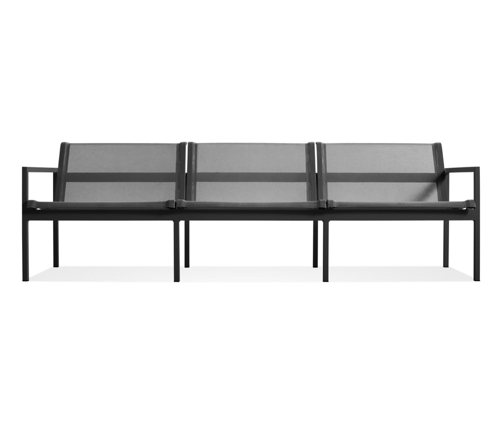 Blu Dot Skiff Carbon Outdoor 3 Seat Sofa - Matthew Izzo Home