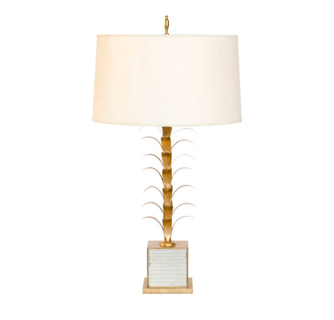 Worlds Away Boca Chica Tropical Table Lamp - Matthew Izzo Home
