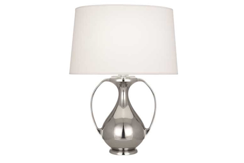 Robert Abbey Belvedere Nickel Table Lamp - Matthew Izzo Home