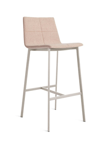 Blu Dot Between Us Blush Modern Bar Stool - Matthew Izzo Home